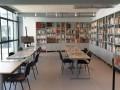 Linéaire d'étagère sur mesure pour le Centre de Documentation sur la Guerre d'Algérie. Aix en Provence