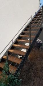 Remplissage de garde-corps d'escalier