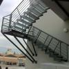 Vente escaliers exterieurs quart tournant métal La Ciotat