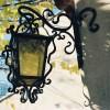 Fabrication lanterne fer forgé Toulon Aix