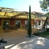 Pergola métal pour l'Hotel du Circuit du Castellet.
